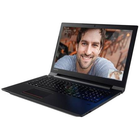 Laptop Lenovo 15.6'' V310, HD, Intel Core i5-6200U, 4GB, 500GB + 8GB SSH, GMA HD 520, FingerPrint Reader, FreeDos, Black