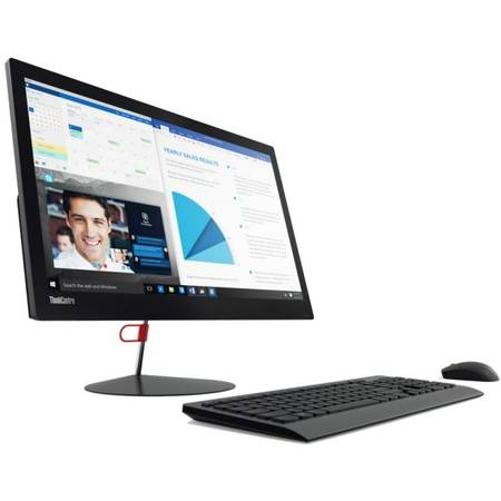 Sistem Desktop All-In-One Lenovo X1, 23.8'', Procesor i5-6200U, 8GB, SSD 256GB Int NoODD  W7 Pro