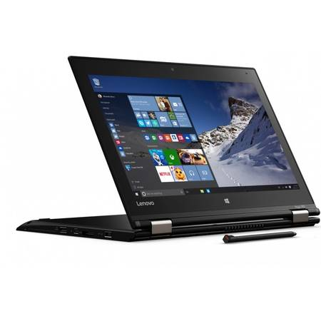 Laptop Lenovo Yoga 260, 12.5'' FHD, i7-6600U, 16GB, SSD 512GB Int NoODD Win10 Pro