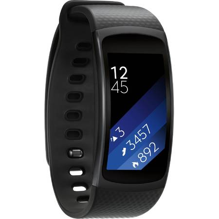Smartwatch Samsung Galaxy Gear Fit 2, Dark Grey