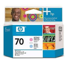 HP C9405A INK 70 Printheads Light Cyan and Light Magenta C9405A