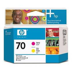HP C9406A INK 70 Printheads Magenta and yellow C9406A
