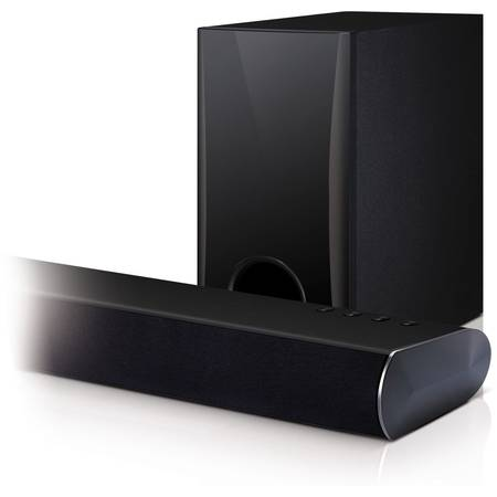 Soundbar LG LAS350B, 120W, Bluetooth, Wireless, argintiu