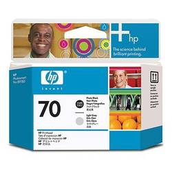 HP C9407A INK 70 Printheads Photo Black and Light Grey C9407A