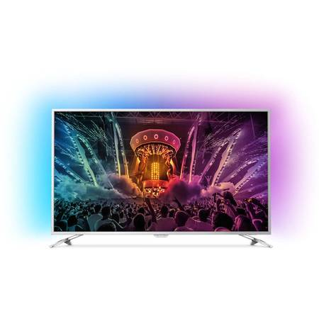 Televizor LED Philips 165 cm 65PUS6521/12, UHD 4K, Smart TV, Android TV, WiFi, CI+