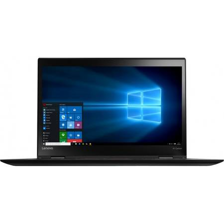 Ultrabook Lenovo 14'' ThinkPad X1 Carbon 4th gen, WQHD IPS, Intel Core i7-6500U (4M Cache, up to 3.10 GHz), 8GB, 256GB SSD, GMA HD 520, FingerPrint Reader, Win 7 Pro + Win 10 Pro, Black