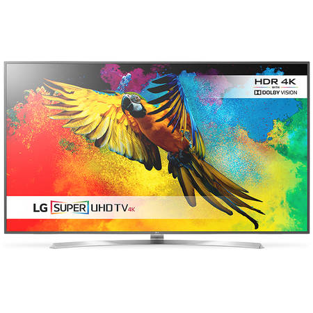Televizor Super UHD LED LG 75UH855V, 190cm, IPS 4K Quantum, 3D, Smart webOS 3.0, Harman/Kardon, ULTRA Slim