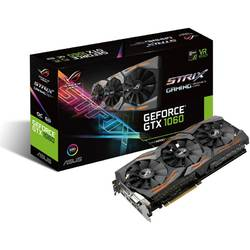 Placa video Asus NVIDIA STRIX-GTX1060-6G-GAMING, GTX 1060, PCI-E 3.0, 6144MB GDDR5, 192bit, 1847/1863 MHz, DVI, 2XHDMI, 2 xDP