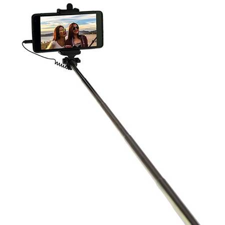 MEDIATECH Selfie stick Media-Tech MT5508 Black, conector Jack