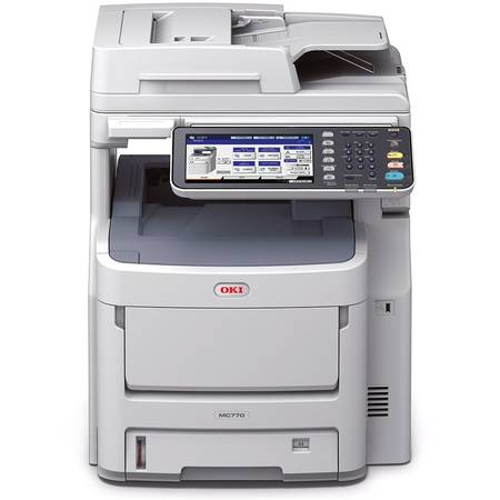 Multifunctional laser color OKI MC770dn, Fax, A4