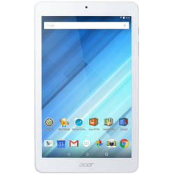 "Tableta Acer B1-850-K2FD, 8"", Quad-Core 1.3GHz, 1GB RAM, 16GB, IPS, White"