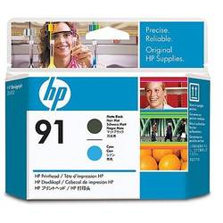 HP C9460A INK 91 Printhead Matte Black and Cyan for:Designjet Z6100, Z6100PS C9460A
