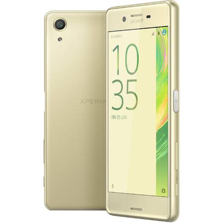 Telefon mobil Sony X Performance, Dual SIM, 64GB, 4G, Lime Gold