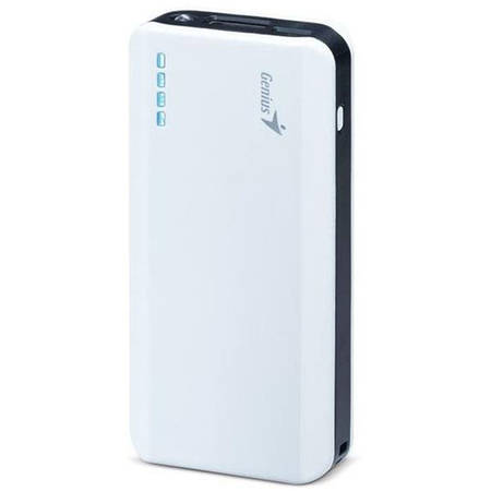 KYE Genius Power Bank ECO-u622, 6000 mAh, alb