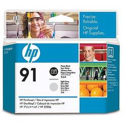 HP C9463A INK 91 Printhead Photo Black and Light Grey for:Designjet Z6100, Z6100PS C9463A