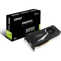 Placa video MSI NVIDIA GeForce GTX 1070 AERO 8G OC, PCI Express x16 3.0, 8192MB, GDDR5 , 256bit