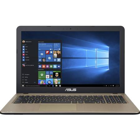 "Laptop ASUS 15.6"" X540LJ, HD, Intel Core i3-4005U (3M Cache, 1.70 GHz), 4GB, 1TB, GeForce 920M 2GB, Win 10 Home, Chocolate Black"