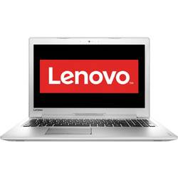 Laptop Lenovo 15.6'' IdeaPad 510, FHD IPS, Intel Core i7-6500U, 8GB, 500GB, GeForce 940MX 4GB, FreeDos, White