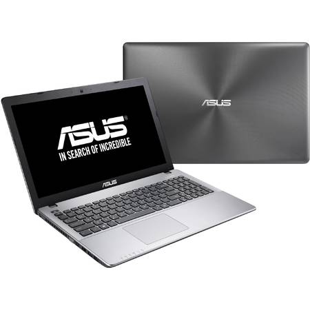 "Laptop ASUS 15.6"" X550JX, HD, Intel Core i5-4200H (3M Cache, up to 3.4 GHz), 4GB, 1TB, 7200 rpm, GeForce GTX 950M 2GB, Win 10 Home, Dark Grey"