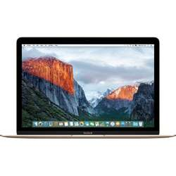 "Laptop Apple MacBook 12 Intel Dual Core M3 1.10GHz, 12"", Retina, 8GB, 256GB SSD, Intel HD Graphics 515, OS X El Capitan, RO KB, Gold"