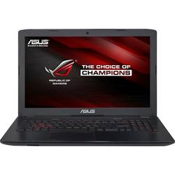 "Laptop ASUS Gaming 15.6"" ROG GL552VW, FHD, Intel Core i7-6700HQ, 8GB, 1TB 7200 RPM, GeForce GTX 960M 4GB, FreeDos, Black-Grey, versiunea metalica"