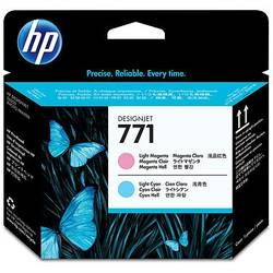 HP CE019A Ink 771 Printhead Light Magenta and Light Cyan, Works with: HP DesignJet Z6200 CE019A