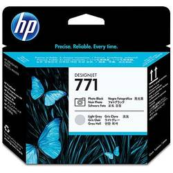 HP CE020A Ink 771 Printhead Photo Black and Light Gray, Works with: HP DesignJet Z6200 CE020A