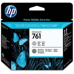HP CH647A Ink 761 Printhead Gray/Dark Gray, Works with: HP DesignJet T7100 Printer series CH647A