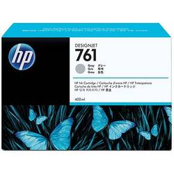 HP CM995A Ink Cartridge 761 Gray 400 ml, Works with: HP DesignJet T7100 Printer series CM995A
