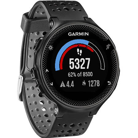 Smartwatch Garmin Forerunner 235 HR Curea Silicon Gri