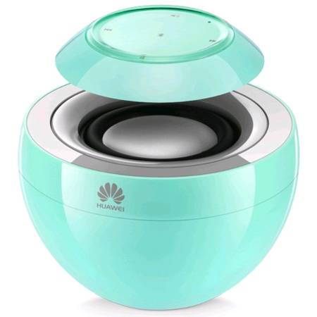 Boxa portabila Huawei Swan AM08 Green, Bluetooth Stereo Speaker, microfon incorporat