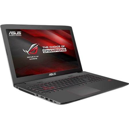 "Laptop ASUS Gaming 17.3"" ROG GL752VW, FHD, Intel Core i7-6700HQ (6M Cache, up to 3.50 GHz), 16GB, 1TB + 128GB SSD, GeForce GTX 960M 4GB, Black, FreeDos"