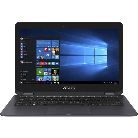 Laptop 2-in-1 ASUS 13.3'' ZenBook Flip UX360CA, FHD Touch, Intel Core m5-6Y54 (4M Cache, up to 2.70 GHz), 8GB, 128GB SSD, GMA HD 515, Win 10 Home, Gray