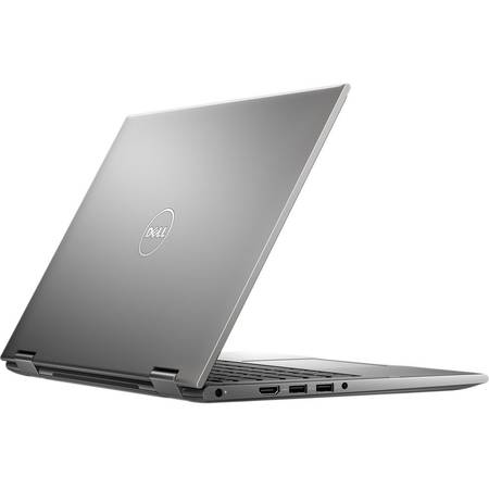 "Laptop 2 in 1 Dell Inspiron 5368 Intel Core i3-6100U 2.30GHz, 13.3"", Touchscreen, Full HD, 4GB, 500GB, Intel HD Graphics, Wi-Fi, Bluetooth, Windows 10 Home, Grey"