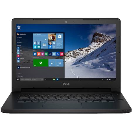 "Laptop Dell Latitude 3470 Intel Core i3-6100U 2.30GHz, 14"", 4GB, 500GB, Intel HD Graphics, Windows 7 Professional/Microsoft Windows 10 Pro"