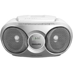 Microsistem Philips AZ215B, CD player,3W, Argintiu
