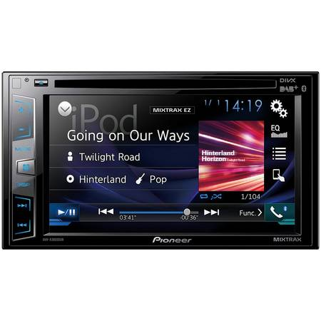 Multimedia player auto Pioneer AVH-X3800DAB, 2DIN, Touchscreen, Bluetooth, 4x50W, USB, AUX, DAB+ tuner