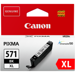 Cartus Canon CLI-571XLB, Black XL