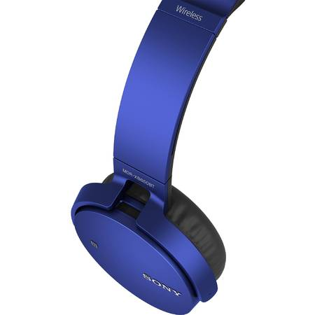 Casti Sony MDRXB650BT, Bluetooth, extra-bass
