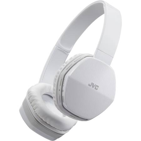 Casti audio JVC HA-SBT5-W, wireless, tip DJ