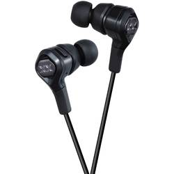 Casti audio in-ear JVC HA-FR100X-B, cu microfon