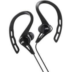 Casti audio in-ear JVC HA-ECX-20-B, sport
