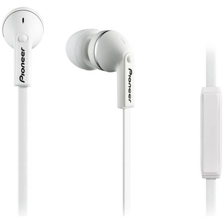 Casti audio in-ear Pioneer SE-CL712T-W cu microfon