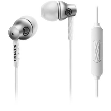 Casti audio In-Ear cu microfon Philips SHE8105SL/00