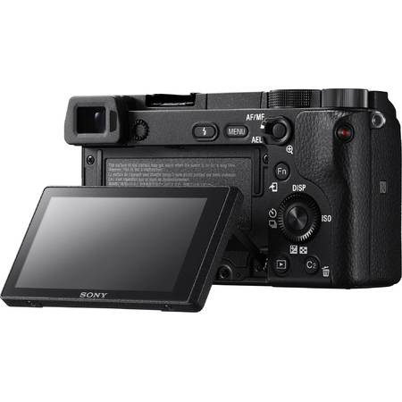 Mirrorless camera Sony Alpha ILCE6300, 24MP, Body, Black