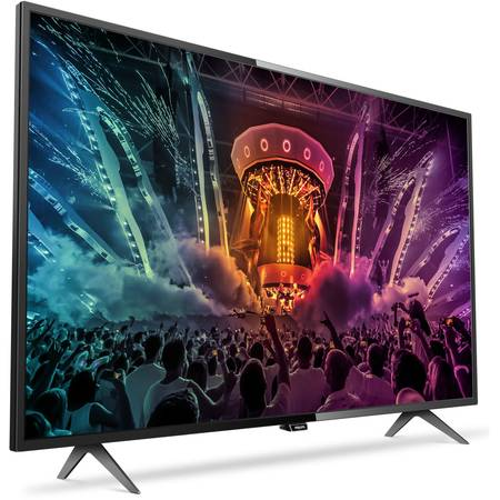 Televizor LED Smart Philips, 139 cm, 55PUH6101/88, 4K Ultra HD