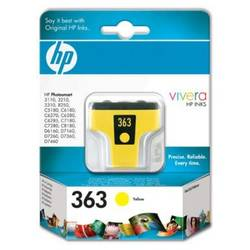 HP Ink no. 363 Yellow Cartridge 6ml for Photosmart8250 C8773EE