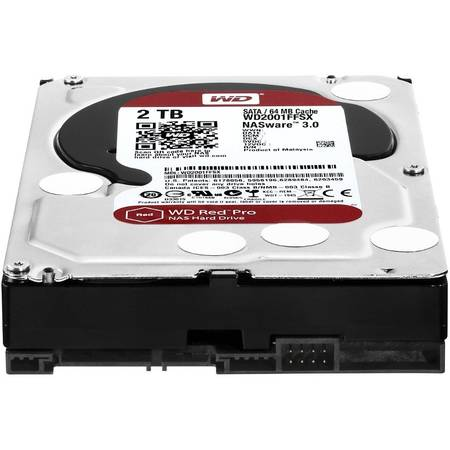Western Digital Hard disk WD Red Pro 2 TB SATA-III 7200RPM 64MB