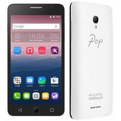 Telefon mobil Alcatel Pop Star, Dual Sim, 8GB, (+3 capace spate white, metal silver, soft gold)