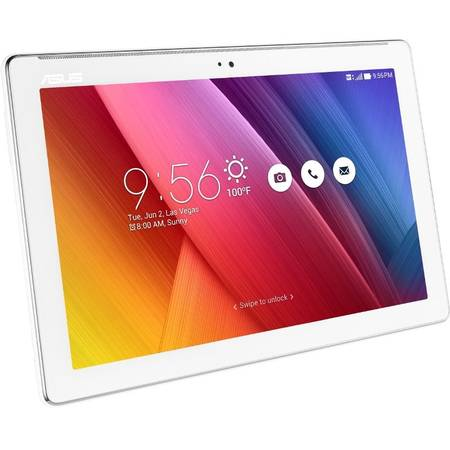 "Tableta ASUS ZenPad 10 Z300CNL-6B044A, 10.1"", Quad-Core 1.8GHz, 2GB RAM, 32 GB, 4G, IPS, Pearl White"